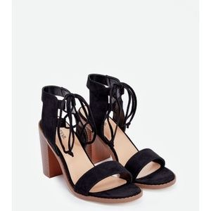 Just Fab Kenna Heeled Sandals